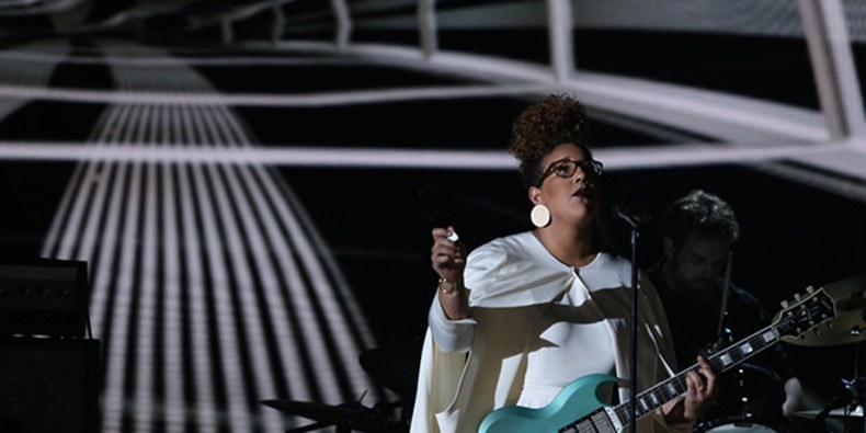 Brittany Howard of Alabama Shakes performs during the 58th Annual Grammys