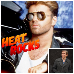 Heat Rocks title over photo of George Michael, with a photo of Chris Molanphy in the corner