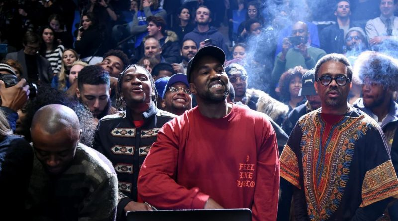 """Kanye West played a Svengali-like role in bringing """"Panda"""" to No. 1. Jamie McCarthy/Getty Images for Yeezy Season 3"""