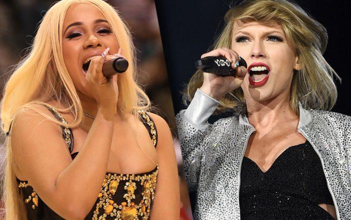 Cardi B v. Taylor Swift
