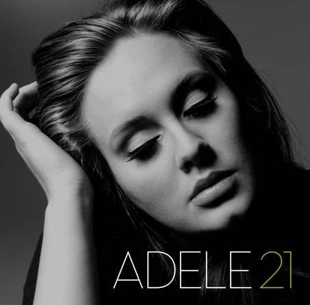 cover of Adele's 21