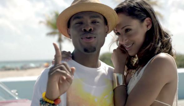 "OMI's rise to No. 1 makes it official: This is the summer of the remix. Still from the video for ""Cheerleader"""