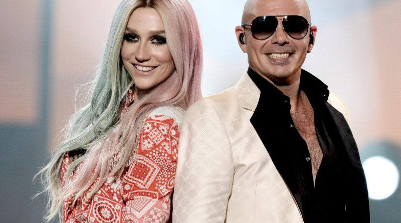 "Ke$ha and Pitbull have basically recorded this generation's ""Cotton Eye Joe."" Photo by Kevin Winter/Getty Images"